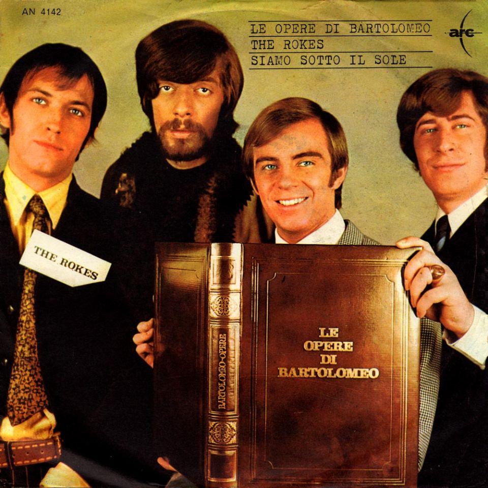 La copertina di «Le opere di Bartolomeo» (The Rokes, 1968)