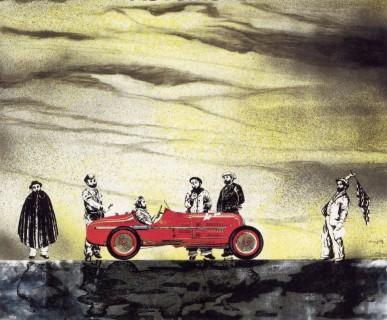 La copertina di «Automobili» (1976)