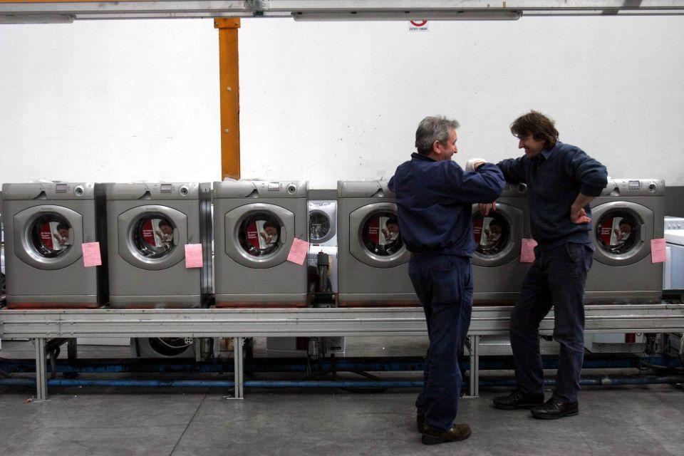 Whirlpool raddoppia in Europa, fuori in 2.000
