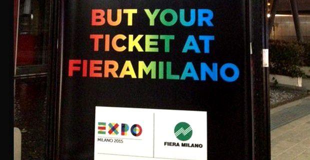 Expo 2015: In caso di necessità mandateci un fax
