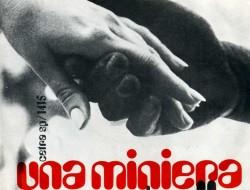 """La copertina del 45 giri """"Una Miniera"""""""