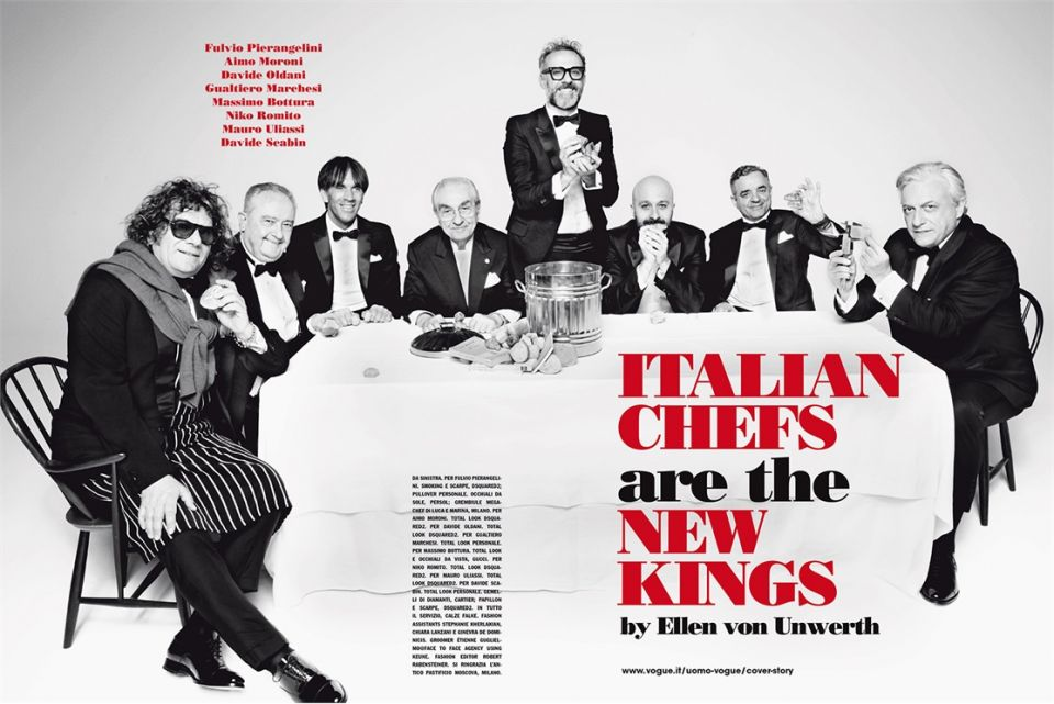 L'Italia autoreferenziale degli chef e dei ristoratori