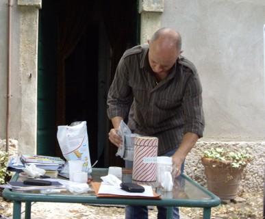Luciano Zanin, fundraising di strada