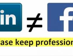 Linkedin non è Facebook