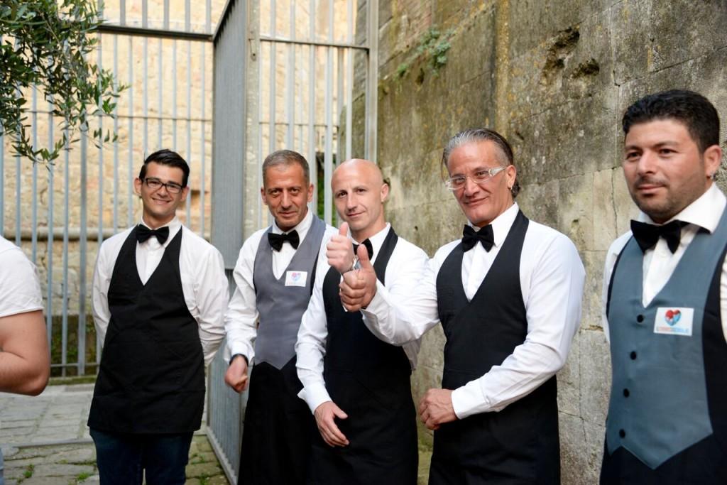 Un tavolo per due in carcere a Volterra