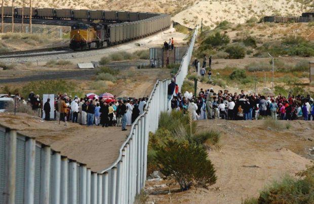 La marcia messicana verso il sogno americano