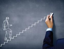 imprenditori salgono scala