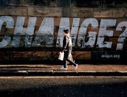 murale domanda su cambiamento