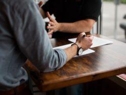 imprinting durante un colloquio di lavoro