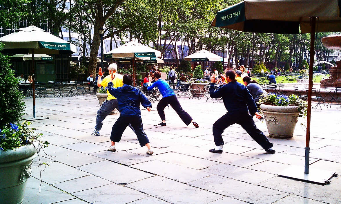 oriente nell'occidente: tai chi a new york