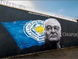 vincere non basta: murale sul Leicester di Claudio Ranieri
