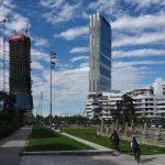 Il progetto CityLife di Milano, esempio dell'operato delle archistar