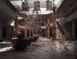 effetto e-commerce: centro commerciale abbandonato
