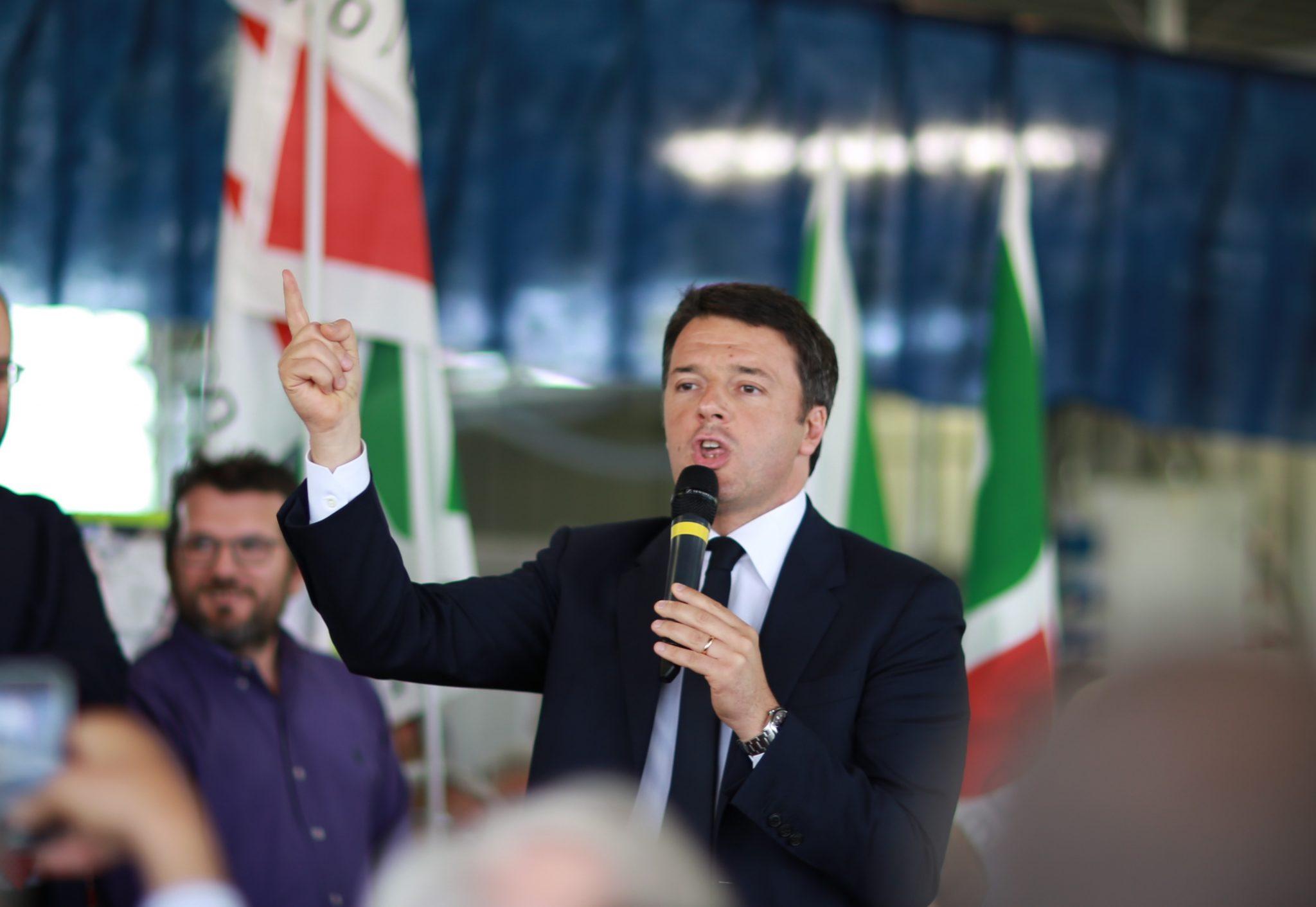 Matteo Renzi, capo del governo autore del Jobs Act