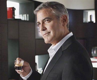 George Clooney, sponsor della Nespresso, alla base di un (voluto) errore di percezione