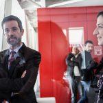 L'assessore Marco Lombardo fotografato a Nobìlita, attivo nella tutela dei nuovi lavoratori come i rider