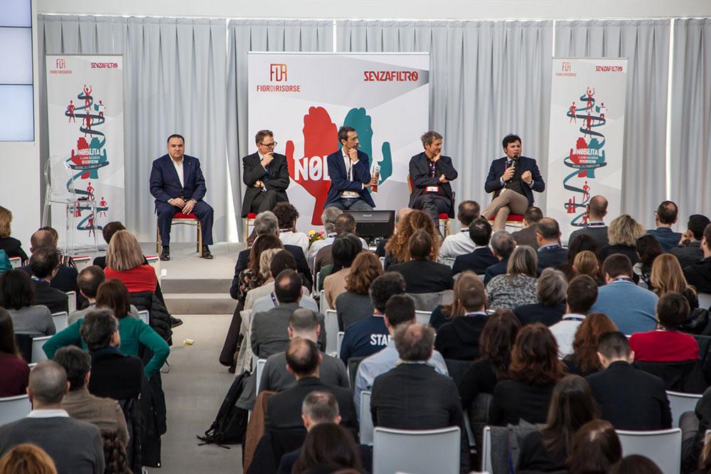 Il panel dal titolo Non chiamatele startup a Nobìlita