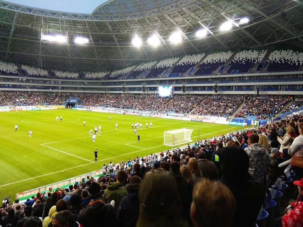 Uno stadio dei Mondiali di Russia 2018