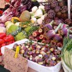 Mercati di piazza: dettaglio del mercato delle erbe a Padova