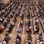 Studenti in un'aula di Giurisprudenza