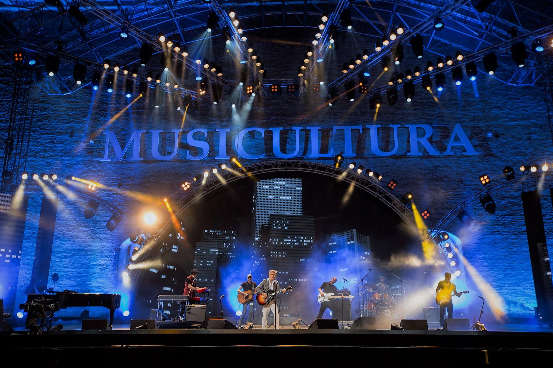 Il palco di Musicultura, il festival ideato da Pier Cesanelli