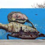 """Un murales del progetto """"Vedo a colori"""", a Civitanova Marche"""