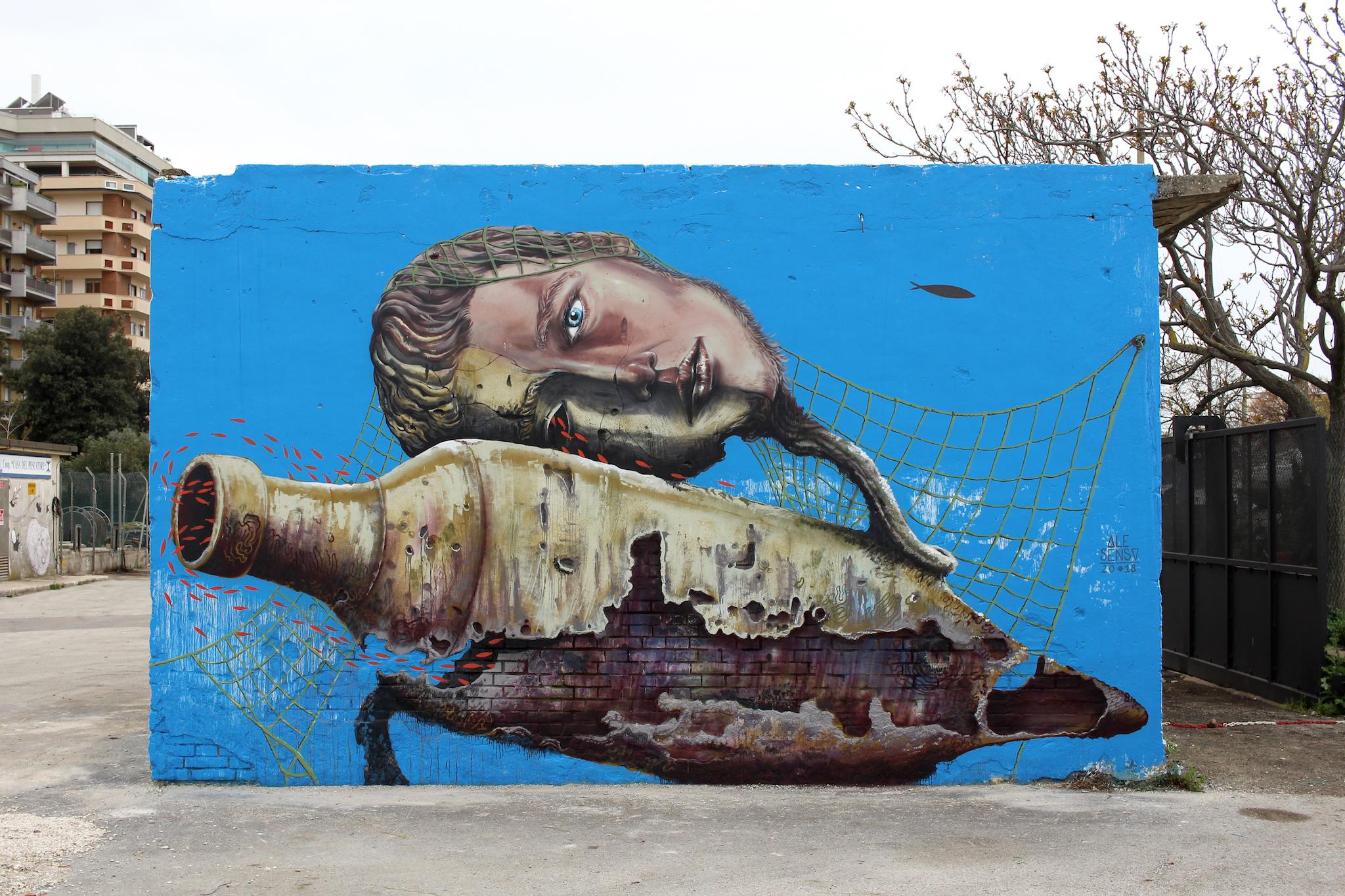 I Piu Bei Murales.E Marchigiano Il Porto Piu Dipinto D Italia Senzafiltro