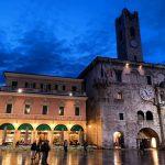 Un'immagine del centro storico di Ascoli Piceno.