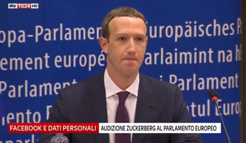 L'audizione di Mark Zuckerberg in seguito al caso Cambridge Analytica.