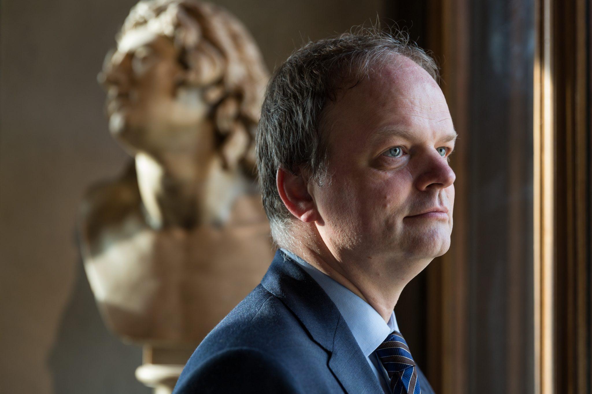 Eike Schmidt, direttore del museo degli Uffizi.
