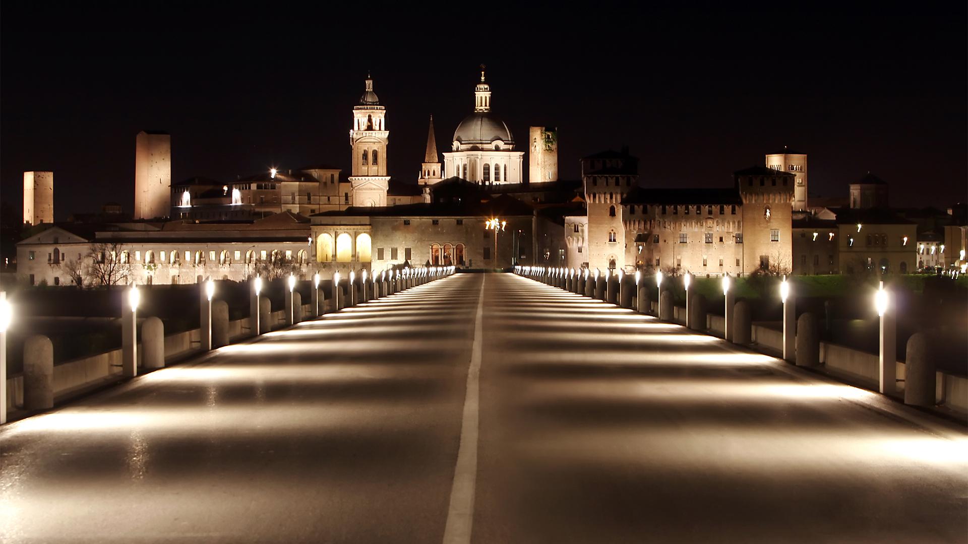 Un'immagine di Mantova