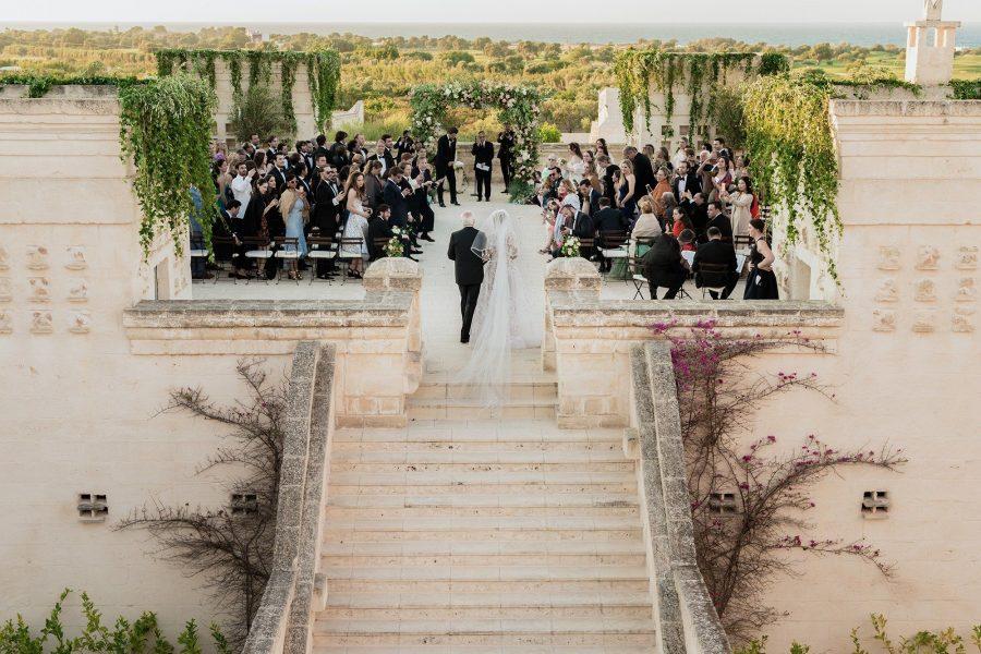 Destination wedding purché sotto i trulli