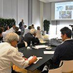 Una riunione aziendale, habitat naturale delle discussioni sulla leadership