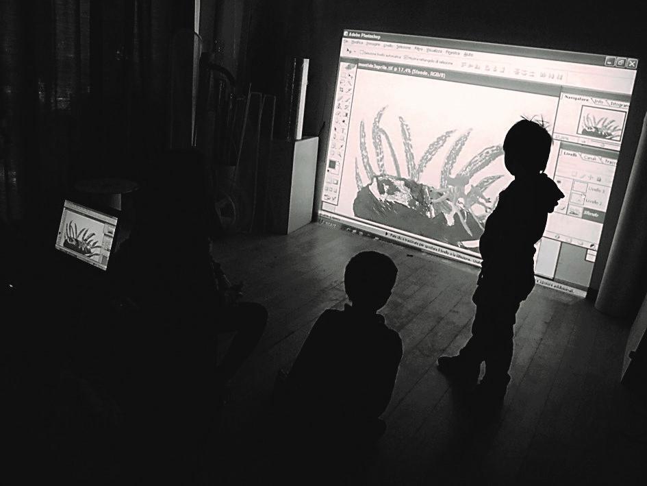 Un'immagine di esperienza immersiva a Reggio Children