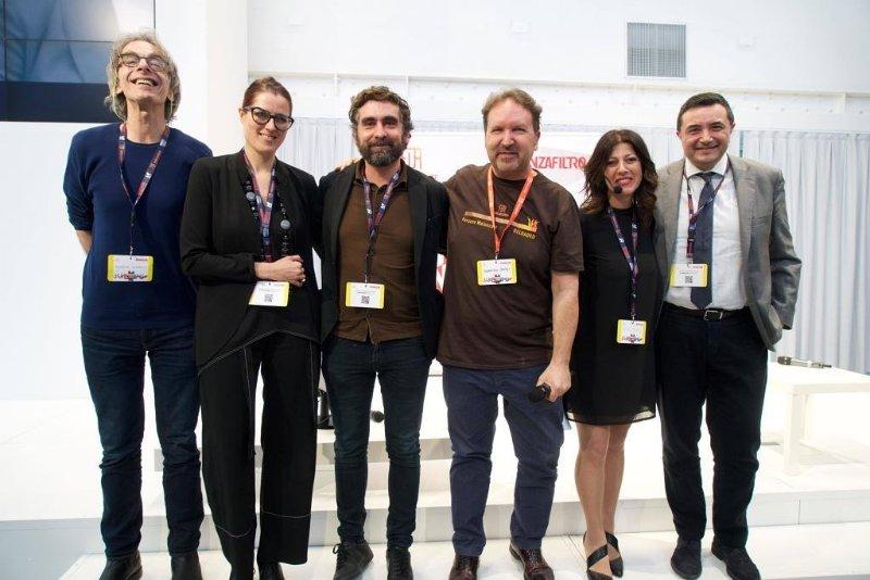 """I partecipanti al panel """"Classi sociali o classi social?"""" al festival di Nobìlita"""