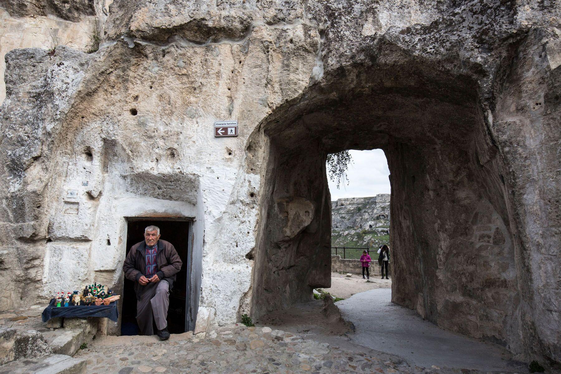 Un angolo antico di Matera 2019