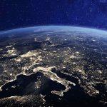 L'Europa vista da un satellite NASA