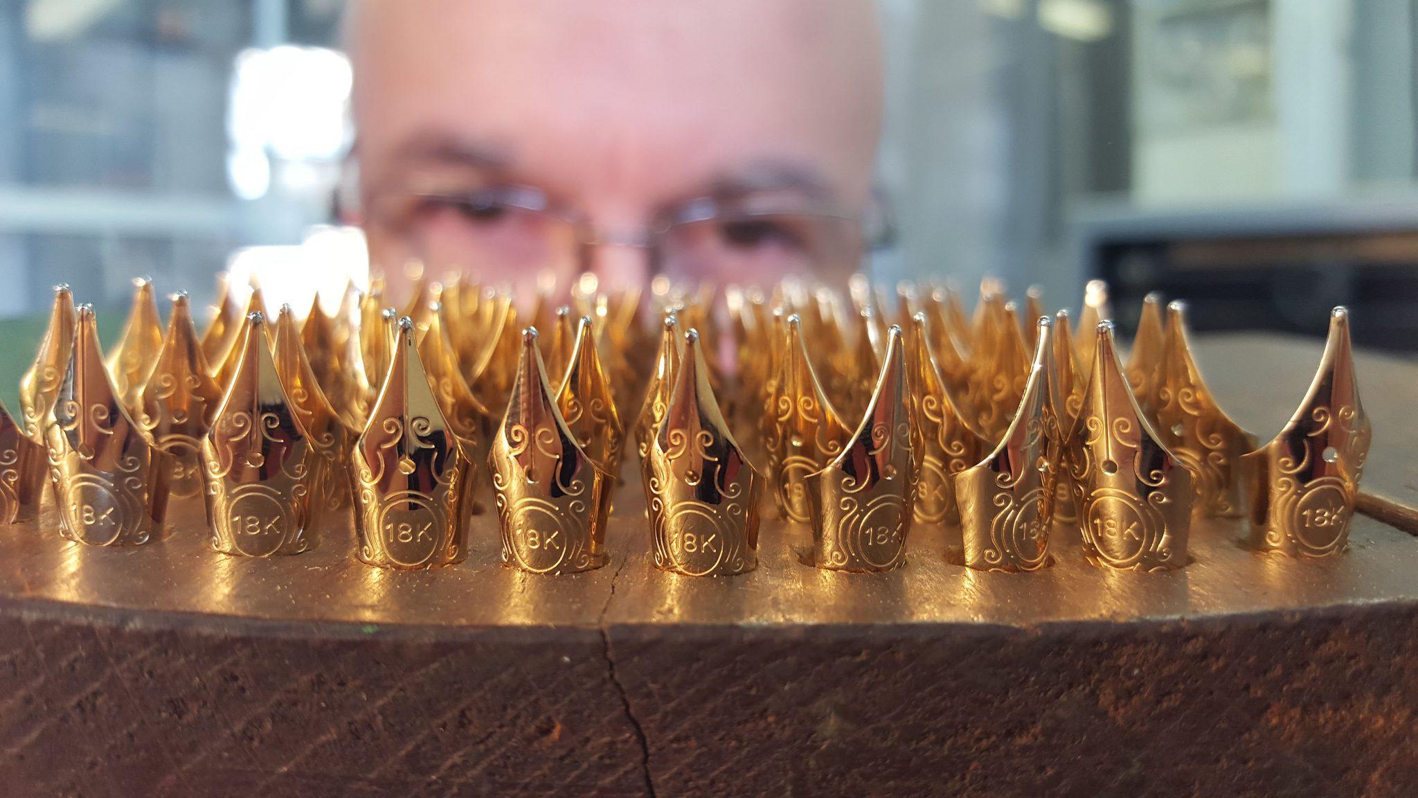 Dei pennini prodotti da Aurora Penne