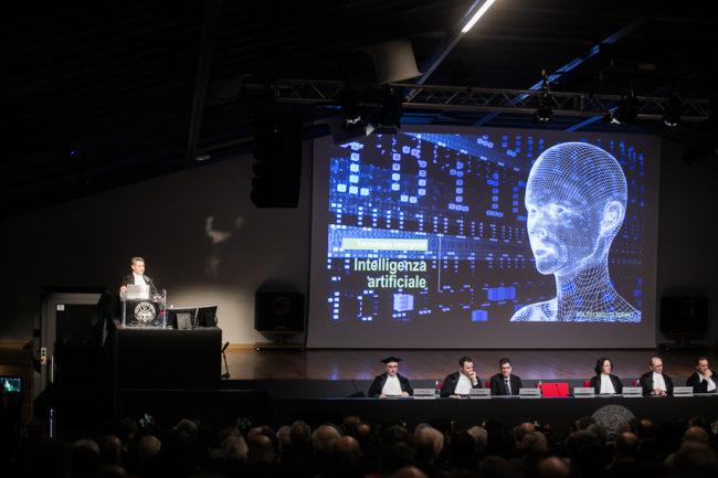 Una conferenza al Politecnico di Torino