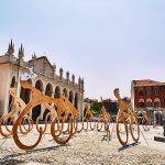 """Un'immagine dalla piazza Duomo di Biella, candidata a """"Città Creativa"""" dell'UNESCO"""