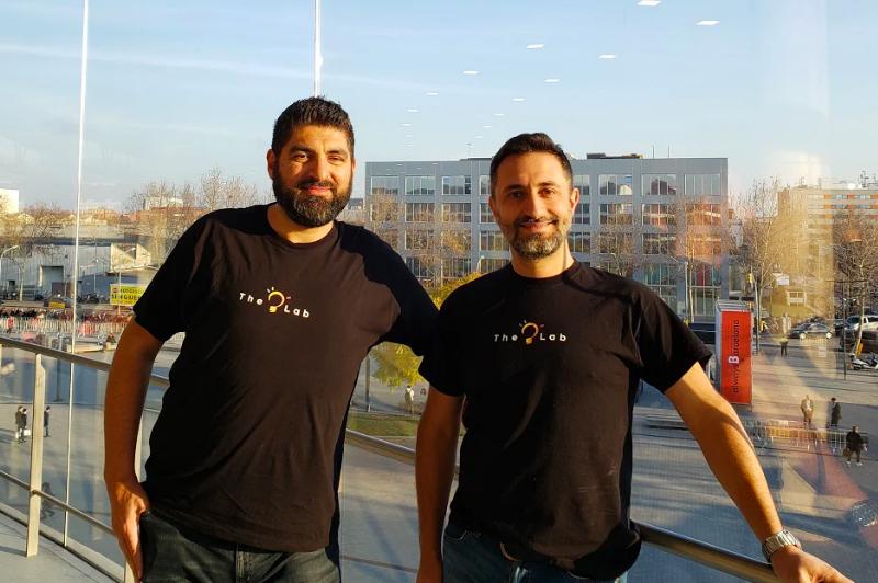 I due fondatori della startup di Torino Ulixe