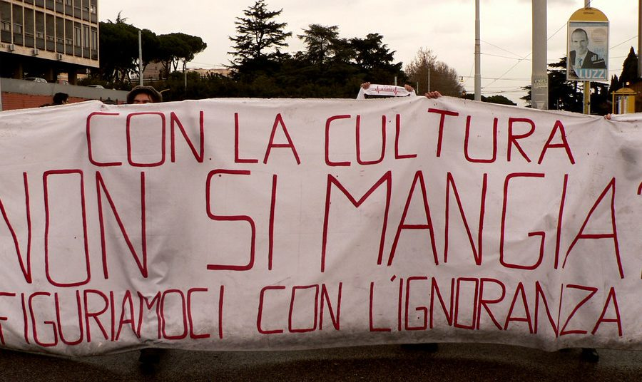 Cara Italia, ci mangio con la laurea in Beni Culturali?