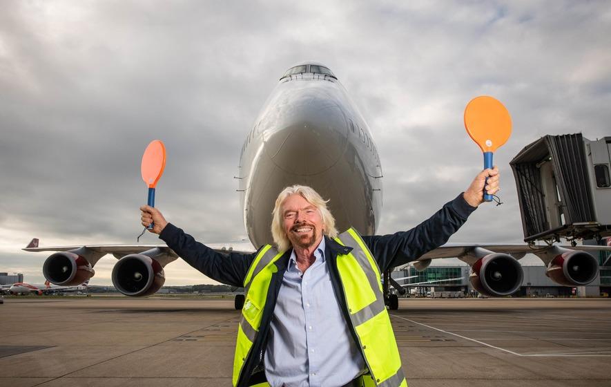 Se Richard Branson la mette sul transpersonale