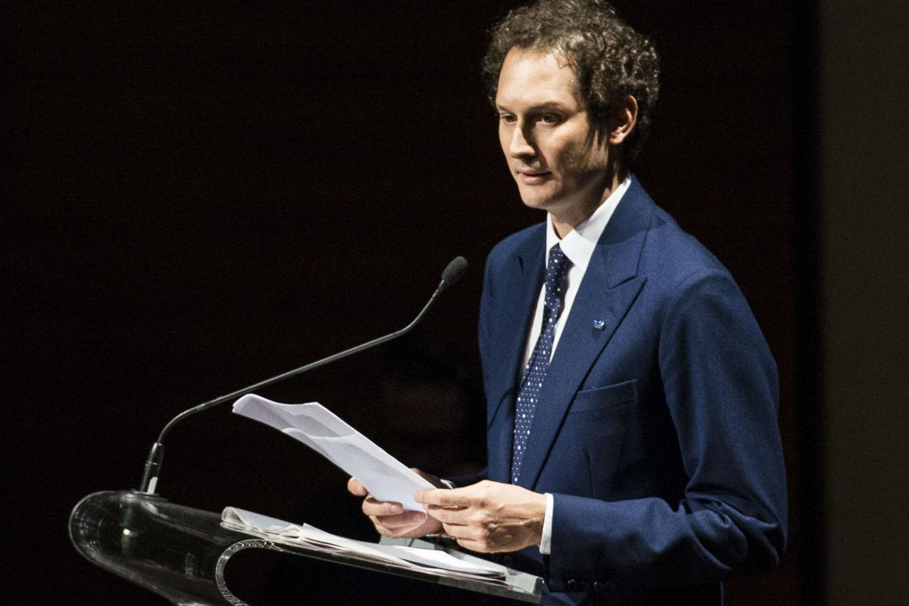 John Elkann, rampollo della famiglia Agnelli, che di recente ha acquistato il quotidiano la Repubblica.
