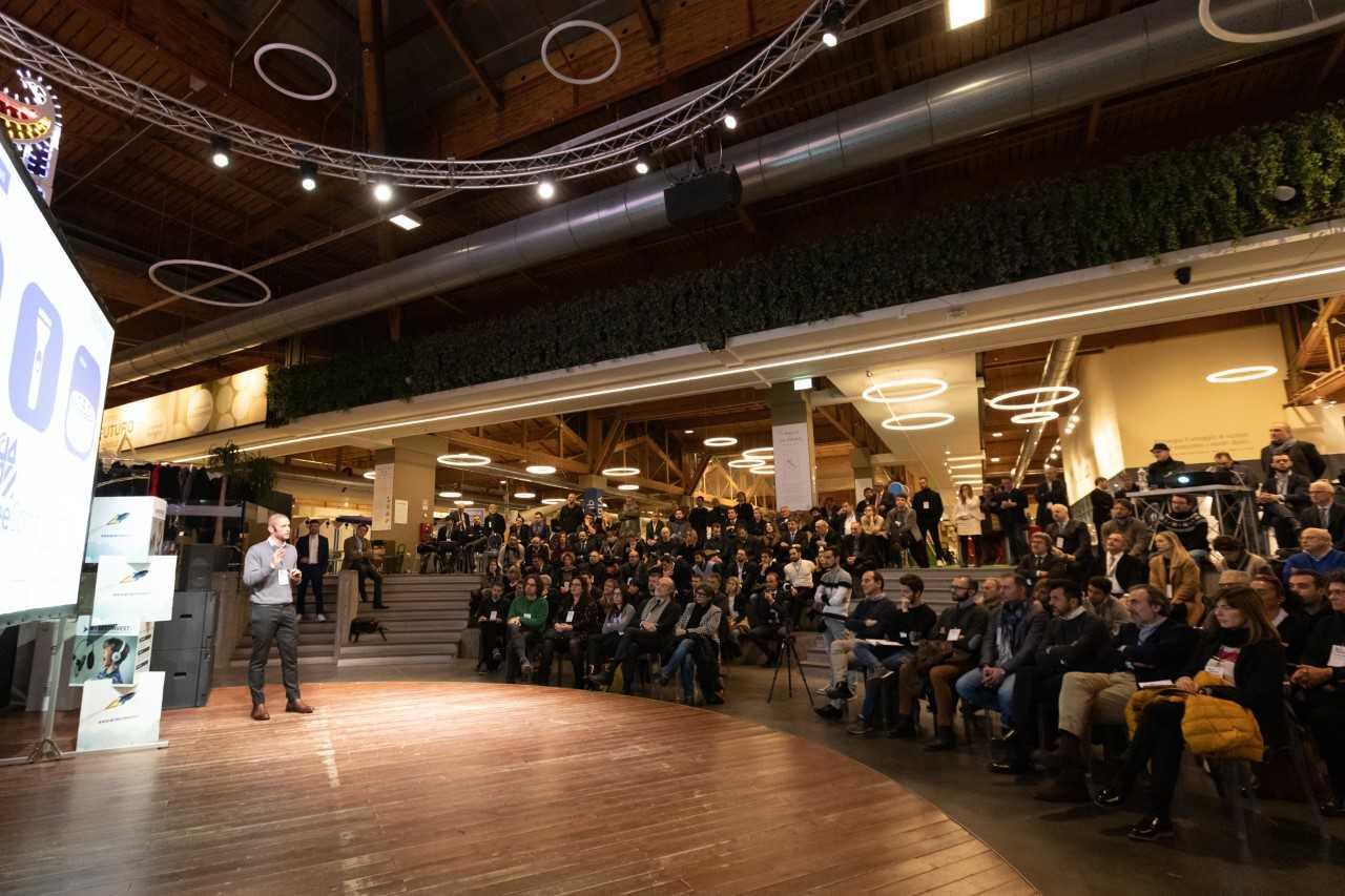 La platea della giornata sull' Equity Crowdfunding in ambito sanitario a FICO, a Bologna