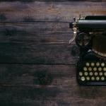 Metafora delle redazioni del futuro: una macchina da scrivere.