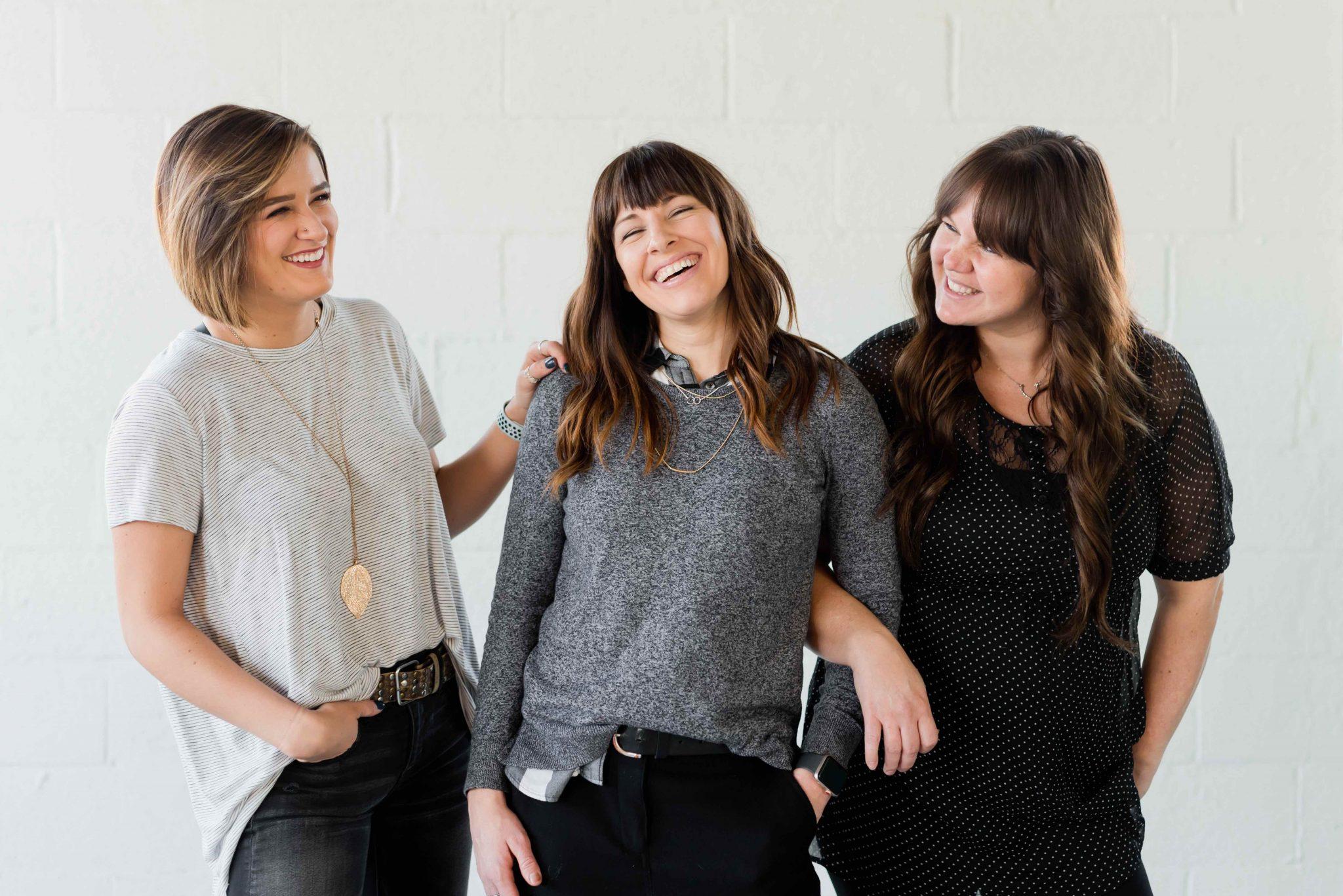 Tre imprenditrici.