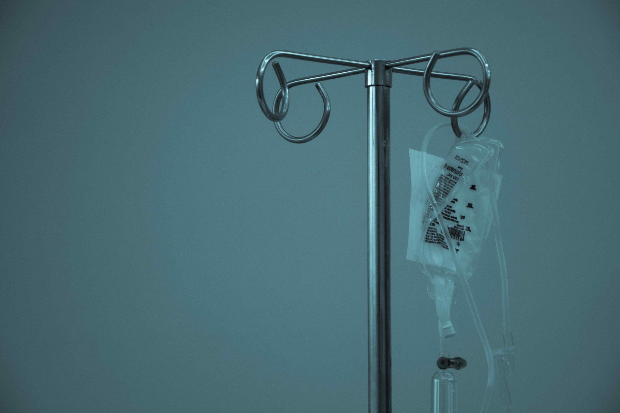Donazioni agli ospedali: una flebo agli sgoccioli