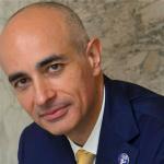 Alitalia e COVID-19: nella foto Nazareno Ventola, CEO dell'aeroporto di Bologna, che commenta la possibilità che il virus rilanci la compagnia di bandiera.