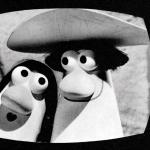 Evoluzione della pubblicità: un'immagine da Carosello che ritrae la pubblicità Bialetti.